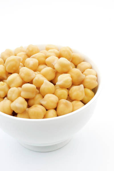 Pulse Photograph - Chickpeas by Geoff Kidd/science Photo Library