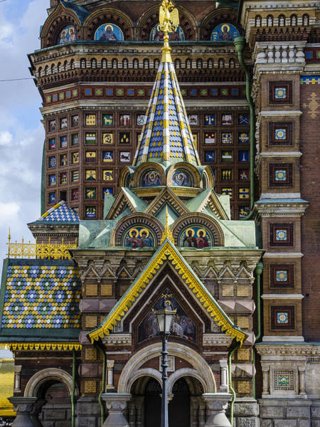 Cathedral Of Christ The Savior Photograph - Church Of The Spilled Blood - St. Petersburg Russia by Jon Berghoff