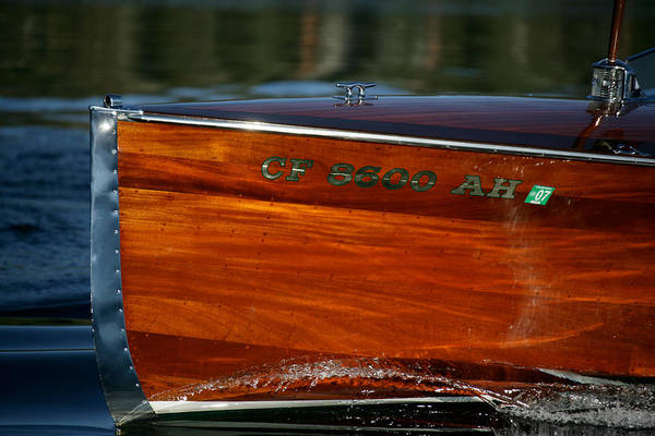 Outboard Engine Photograph - Classic Garwood by Steven Lapkin