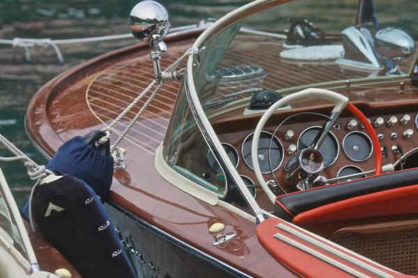 Photograph - Classic Riva by Steven Lapkin
