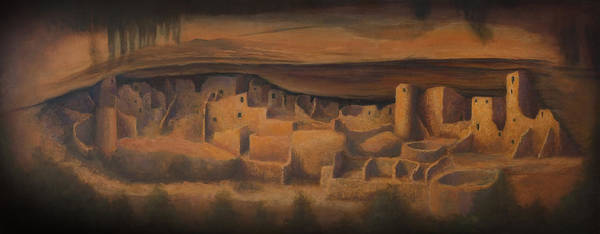 Adobe Walls Painting - Cliff Palace by Jerry McElroy