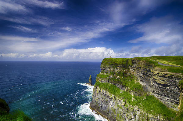 Moher Photograph - Cliffs Of Moher  Ireland by Giovanni Chianese