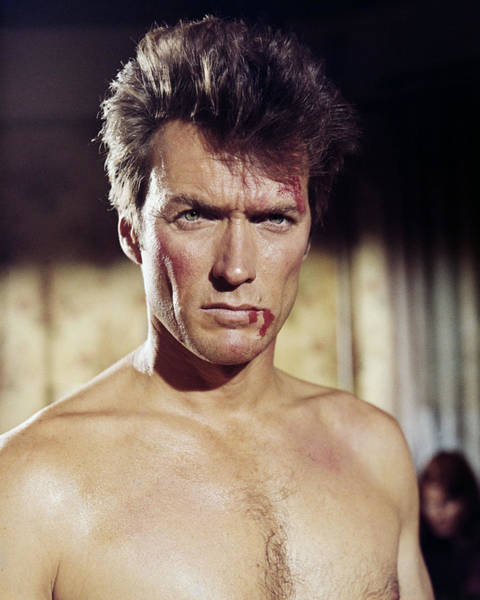 Clint Eastwood Photograph - Clint Eastwood In Coogan's Bluff  by Silver Screen