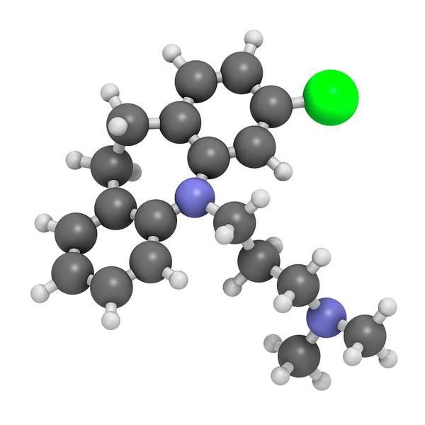 Chronic Pain Wall Art - Photograph - Clomipramine Tricyclic Antidepressant by Molekuul