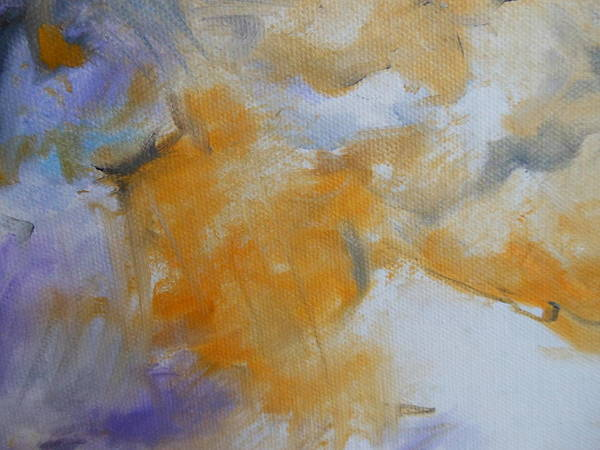 Lyle Painting - Clouds by Lord Frederick Lyle Morris - Disabled Veteran