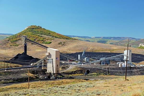 Wall Art - Photograph - Coal-loading Facility At A Coal Mine by Jim West/science Photo Library