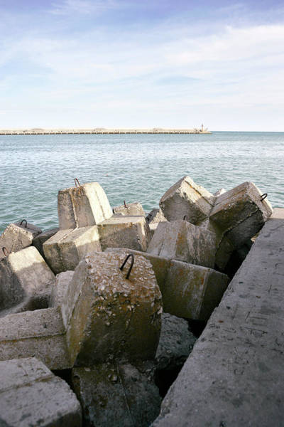 Wall Art - Photograph - Coastal Defence by Gustoimages/science Photo Library