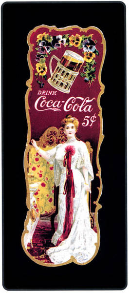 Ad Photograph - Coca - Cola Vintage Poster by Gianfranco Weiss
