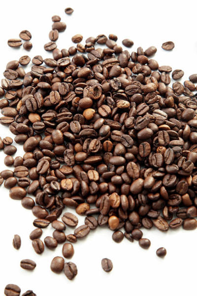 Wall Art - Photograph - Coffee Beans by Claudia Dulak / Science Photo Library