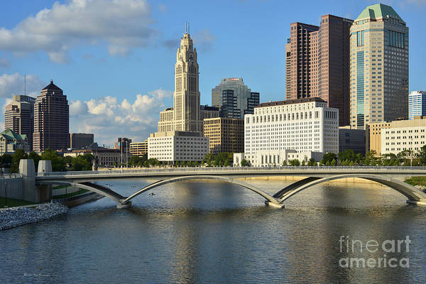 Columbus Ohio Skyline Photo Art Print