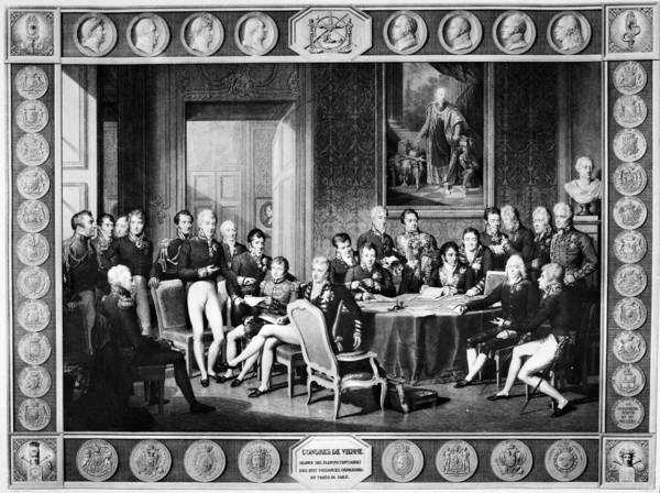 Prince Arthur Painting - Congress Of Vienna, 1815 by Granger