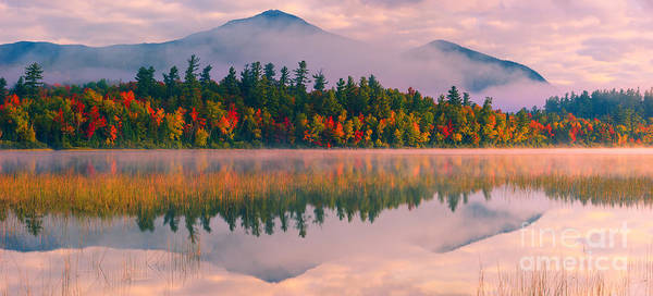 Meijer Wall Art - Photograph - Connery Pond In Adirondack State Park by Henk Meijer Photography