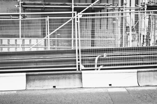 Scaffold Photograph - Construction Site by Tom Gowanlock
