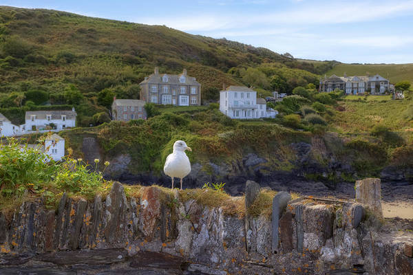 Cornwall Photograph - Cornwall - Port Isaac by Joana Kruse