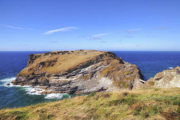 Cornwall Photograph - Cornwall - Tintagel by Joana Kruse