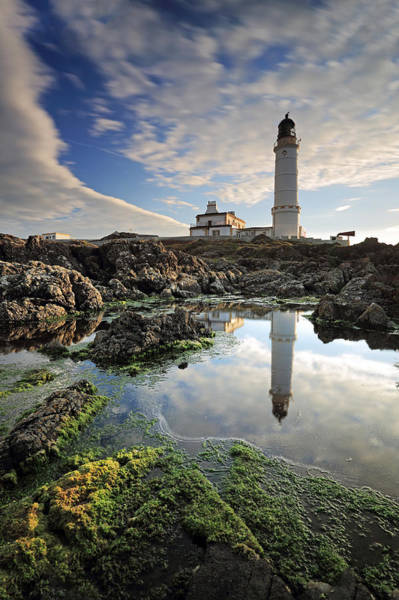 Photograph - Corsewall Lighthouse by Grant Glendinning