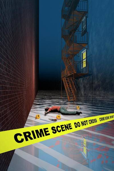 Mike D Photograph - Crime Scene by Carol & Mike Werner