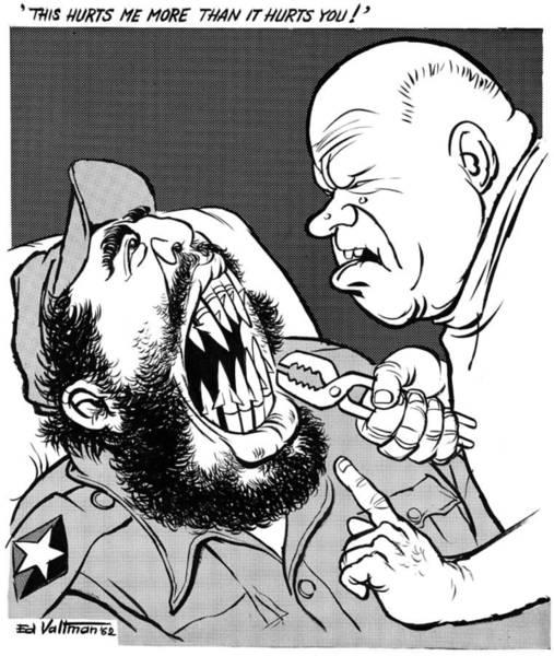 Drawing - Cuban Missile Crisis, 1962 by Edmund Valtman
