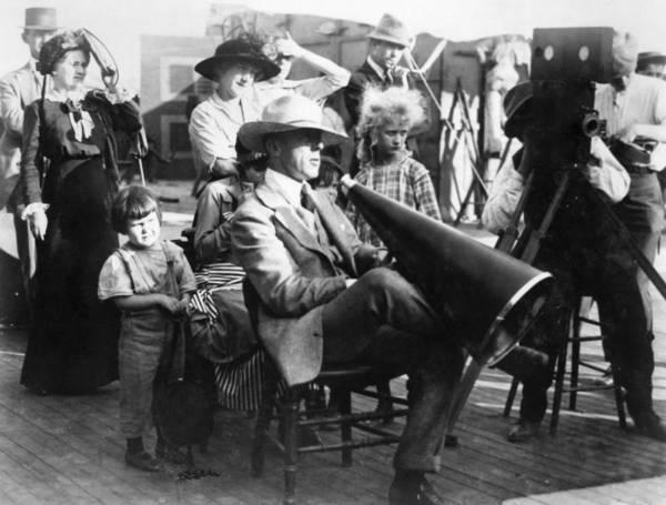 D W Griffith Photograph - D by Granger