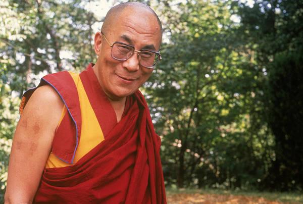 Dalai Lama Wall Art - Photograph - Dalai Lama by Alison Wright