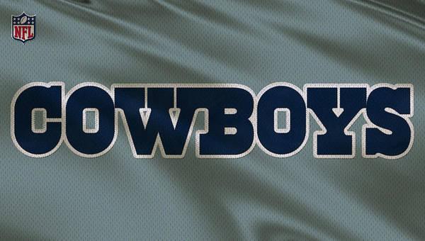 Dallas Cowboys Photograph - Dallas Cowboys Uniform by Joe Hamilton