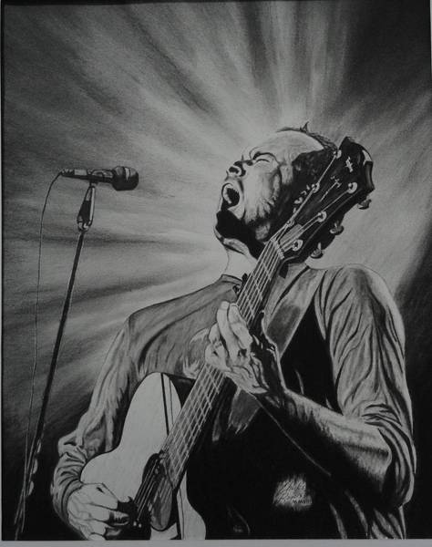 Wall Art - Drawing - Dave Matthews by Charles Rogers
