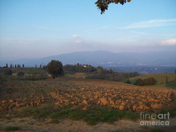 Photograph - Dawn In Loppiano by Alessandra Di Noto