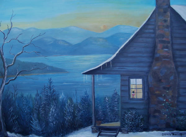 Porch Painting - Daybreak by Glenda Barrett