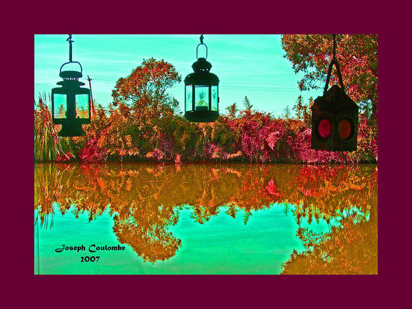 Photograph - 3 Delta Lanterns by Joseph Coulombe