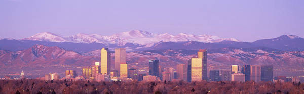 Foothills Wall Art - Photograph - Denver, Colorado, Usa by Panoramic Images