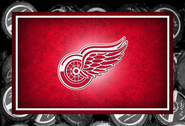 Sweater Wall Art - Photograph - Detroit Red Wings by Joe Hamilton