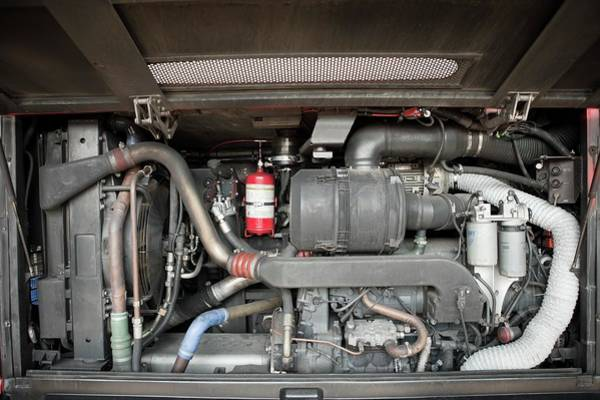 Wall Art - Photograph - Diesel-electric Hybrid Bus Conversion by Thomas Fredberg/science Photo Library