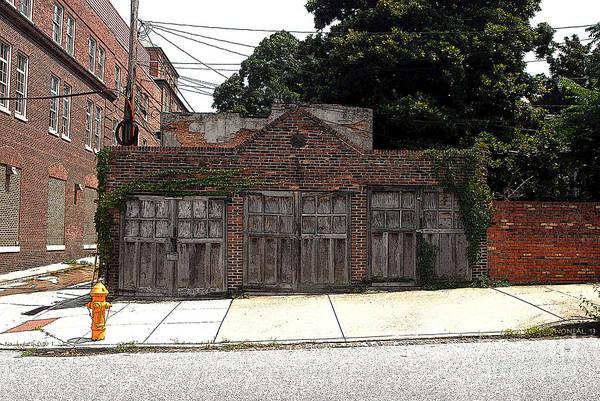 Photograph - 3 Door Carriage Garage by Walter Neal