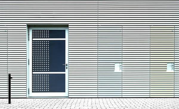 Trippy Wall Art - Photograph - 3 Doors. by Harry Verschelden