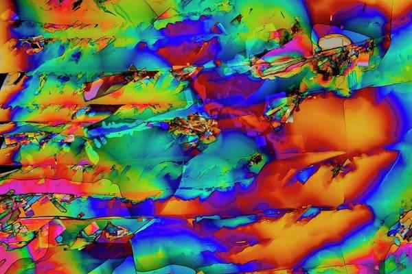 Neurotransmitter Wall Art - Photograph - Dopamine Drug Crystals by Antonio Romero