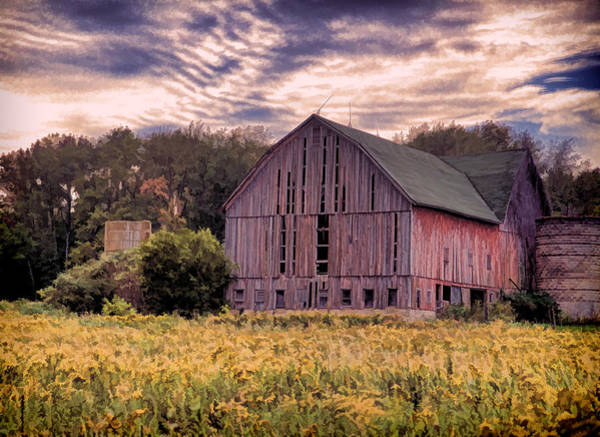 Cass Wall Art - Photograph - Down On The Farm  by John Crothers