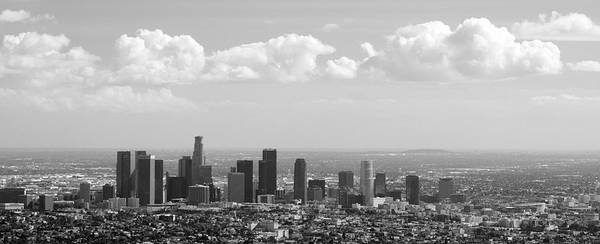 Downtown Of Los Angeles Art Print