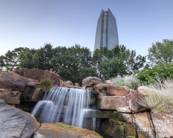 Okc Photograph - Downtown Oklahoma City by Twenty Two North Photography