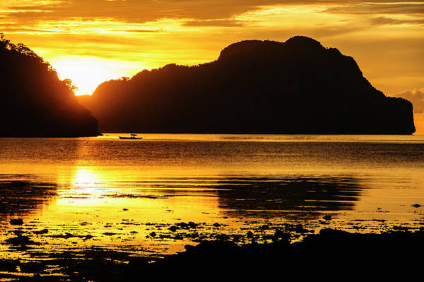 Archipelago Photograph - Dramatic Sunset Light Over The Bay by Michael Runkel
