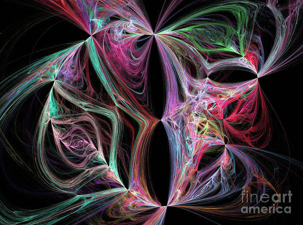 Grotesque Digital Art - Dreamy Forms And Colors by Odon Czintos