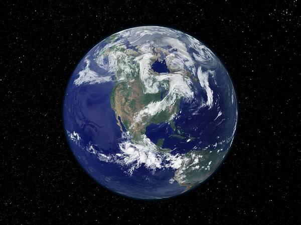 Wall Art - Photograph - Earth by Nasa/science Photo Library