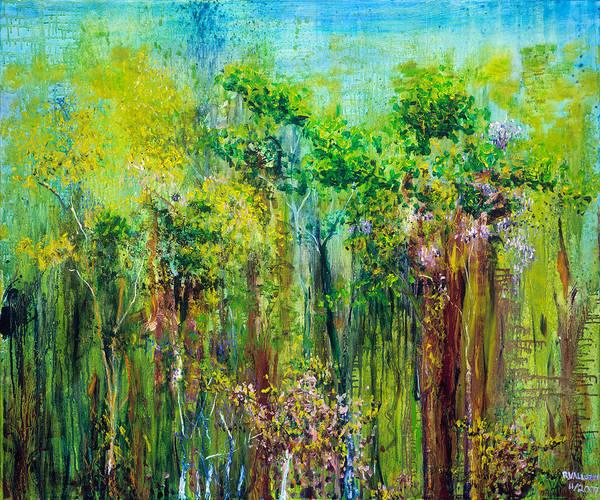 Painting - Edge Of Eden by Regina Valluzzi