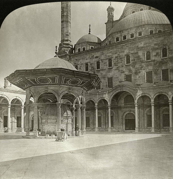 Alabaster Photograph - Egypt Cairo, 1901 by Granger