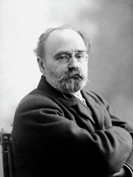 Photograph - Emile Zola (1840-1902) by Granger