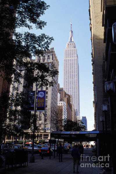 Empire Mixed Media - Empire State Building by Jon Neidert