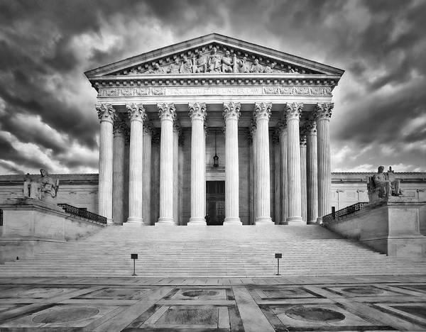 Photograph - Equal Justice Under Law  by Susan Candelario