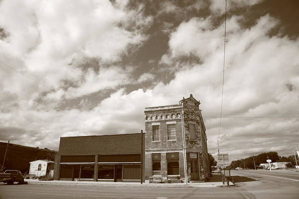 Ghosttown Photograph - Erick Ok - Sheb Wooley Avenue by Frank Romeo