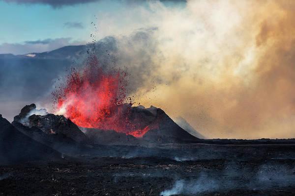 Disaster Photograph - Eruption, Holuhraun, Bardarbunga by Arctic-images