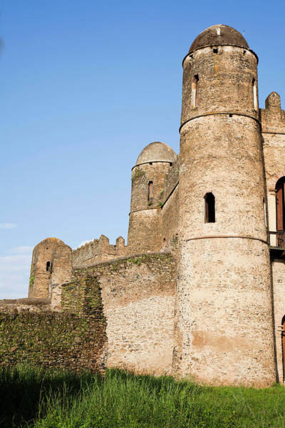 Amhara Photograph - Fasil Ghebbi, A Fortress-like Royal by Martin Zwick