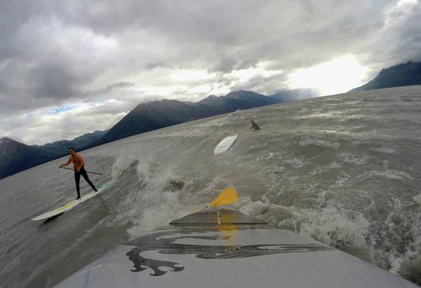 Alaska Photograph - Feature - Bore Tide Surfing In Alaska by Streeter Lecka